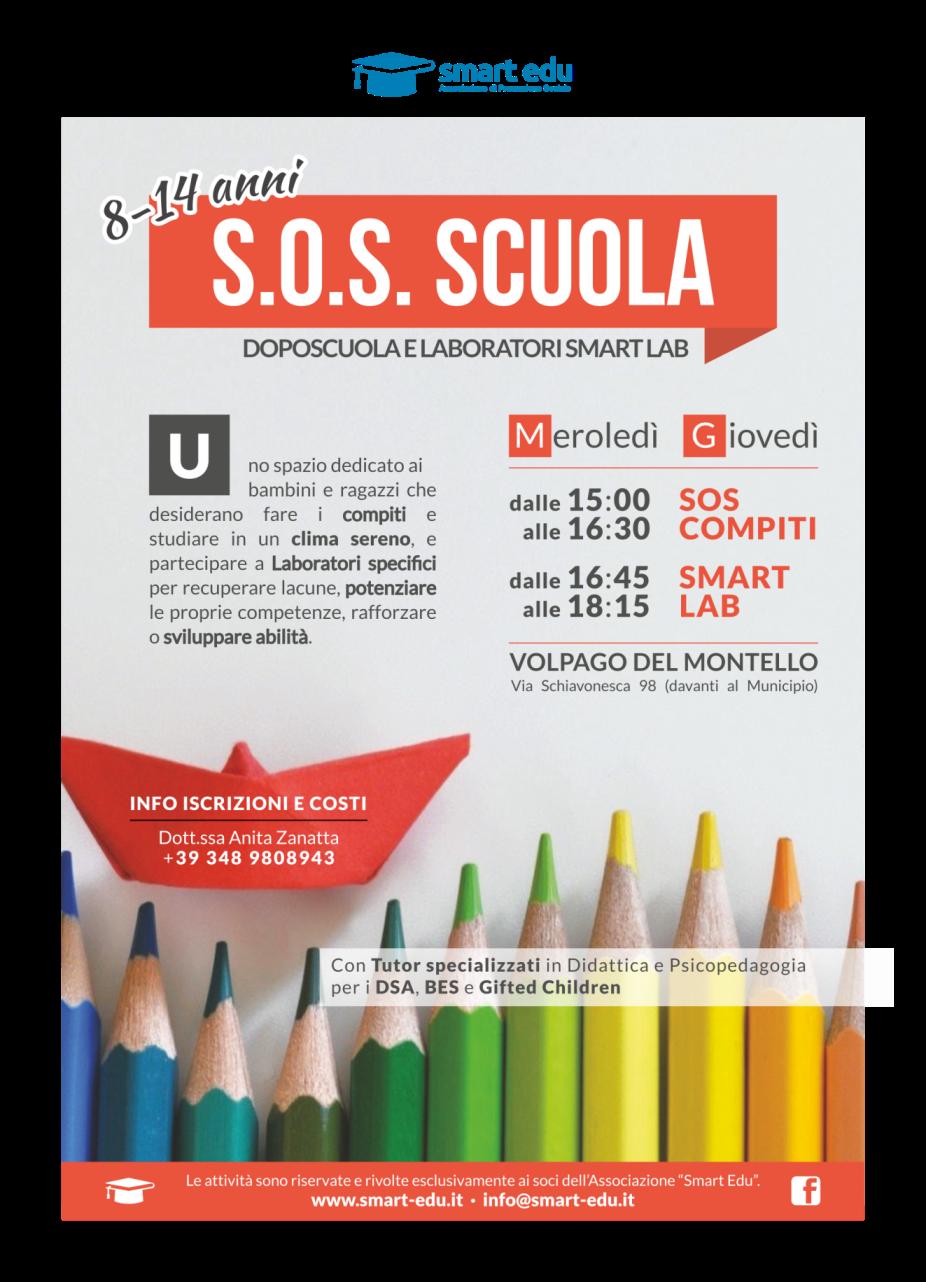 S.O.S. SCUOLA: compiti e laboratori specifici