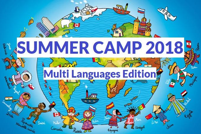 SUMMER CAMP 2018 – Multi Languages Edition