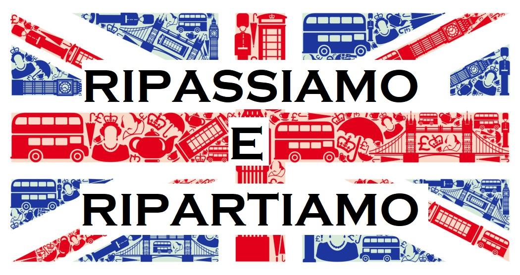 RIPASSIAMO e RIPARTIAMO!! English4Fun Edition