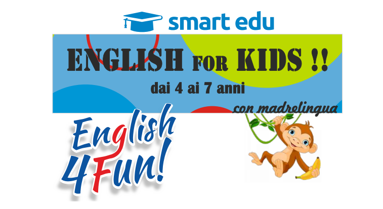 MINI ENGLISH 4 FUN KIDS 4-7 anni