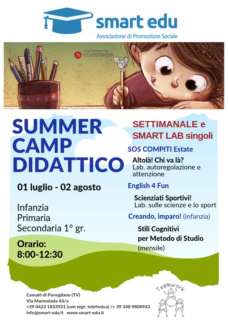 SUMMER CAMP DIDATTICO 2019